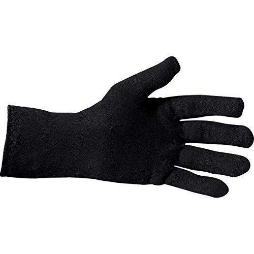 Thermoboy Unterziehhandschuhe Unterziehhandschuh 1.0, hervorragendes Wärmepolster, Baumwolle, Einsteigermodell, Schwarz, XL