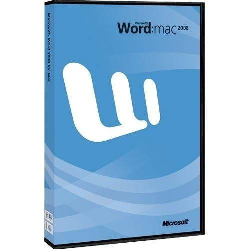 MS Word 2008 für Mac DE DVD [import allemand]
