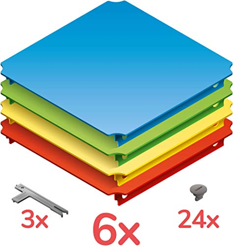 Quadro Platten-Set L