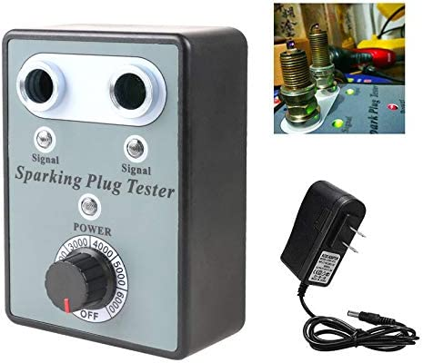 MR CARTOOL Car Spark Plug Tester Double Hole with Import Ig Automotive