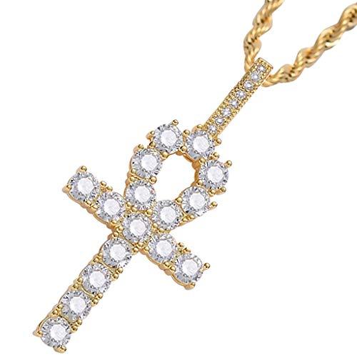 Baoblaze Jewel Organizer Bandeja de Exhibición Placa Que Sostiene El Collar Anillos Pendiente Pulsera - Dorado, 5,1 x 2,4 cm