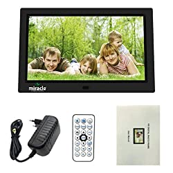 Miracle 10.1-inch Digital Photo Frame