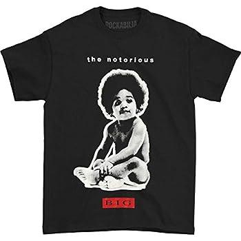 The Notorious B.I.G Men s Big Baby T-Shirt Black X-Large