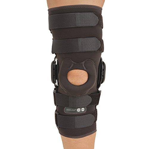 Rebound ROM Sleeve Long Knee Brace Size: X-Large by Ossur