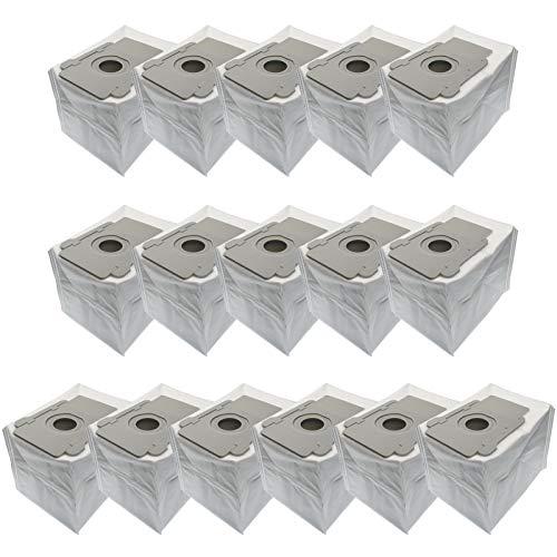 RONGJU 16 Packungen Staubsaugerbeutel Ersatz-Kits für iRobot Roomba i7 i7+ i6+/Plus s9 s9+ Clean Base Automatische Schmutzentsorgungsbeutel