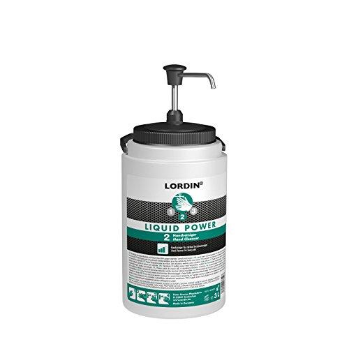LORDIN® LIQUID POWER Handreiniger 3 Liter mit Dosier-Pumpe