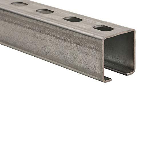 4 Stück - Montageschiene Profil 38mm x 40mm - Länge 2m (2.000mm) Stärke 2,00mm - Korrossionsschutz durch Verzinkung - qpool24