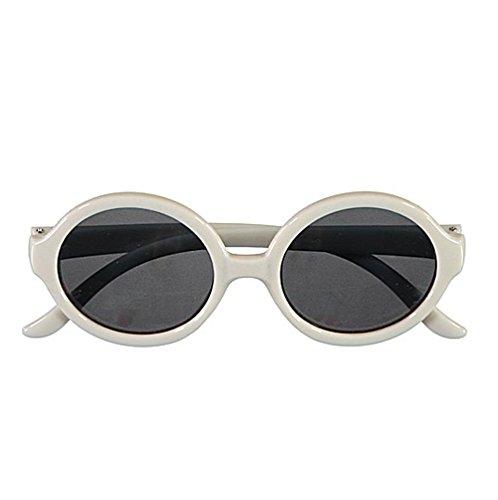 NAME IT NAME IT mini Mädchen Sonnenbrille UV400 Schutz (Bright-White)