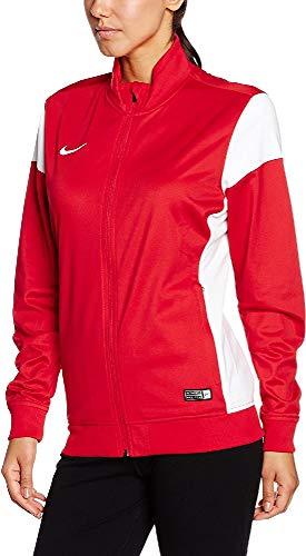 Nike Damen Sweatshirt Sideline Knit Academy 14 Trainingsjacke, University red/White, L
