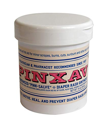 PINXAV Healing Cream, Fast Relief for Diaper Rash, Eczema, Chafing, Bed Sores, Acne, and Minor Cuts and Burns (16 OZ)