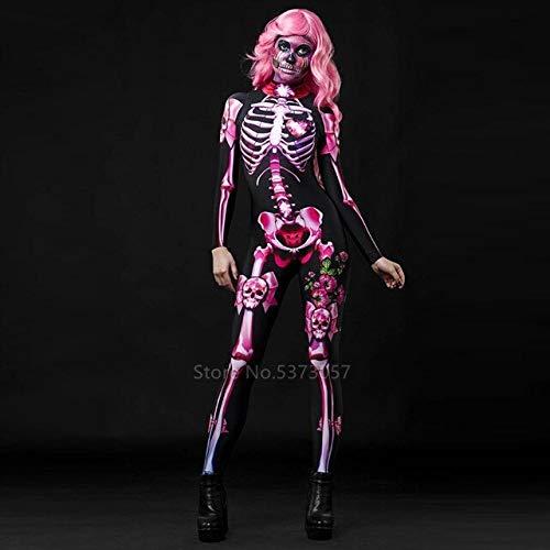 ZHANGHUI Trajes de Miedo Hombres S Disfraces de Halloween, Halloween Vestido de los niños, Vestidos de Halloween for los Adolescentes, por Juego de Roles (Color : Adult, Size : M)