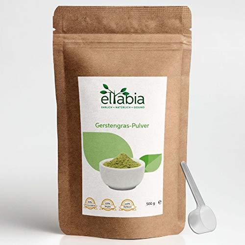 poudre d'herbe d'orge eltabia 500g 100% pure sans additifs, qualité crudité