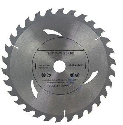 Hoja de sierra circular de alta calidad (sierra de corte) 400 mm x 32 mm x 30T para discos de corte de madera circulares