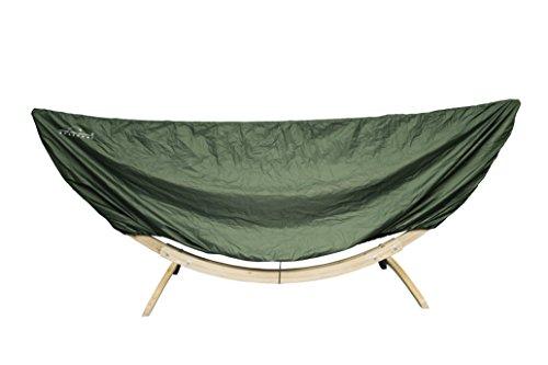 AMAZONAS Hammock Cover Schutzhülle für Hängematten und Gestelle mit 320-395 cm Gesamtlänge in Grün
