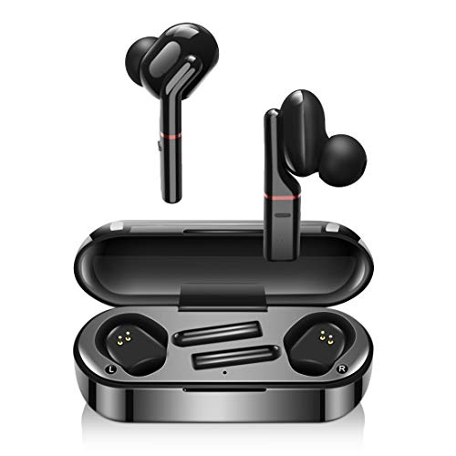 Wireless Headphones, LESHI Bluetooth 5.0 Wireless Earphones True Noise...
