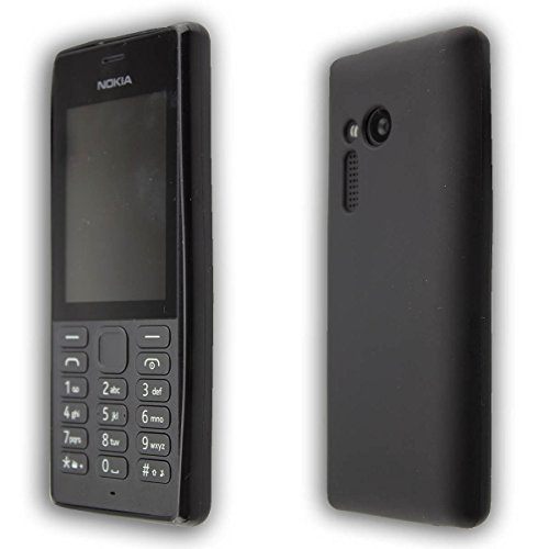 caseroxx TPU-Custodia per Nokia 150, Guaina (TPU-Custodia in nero)
