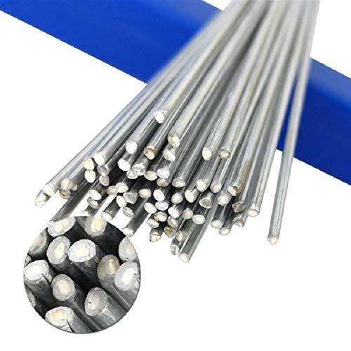 WYanHua-varilla de soldadura Barras de soldadura de aluminio de 50 cm, para soldadura de aluminio sin necesidad de soldadura en polvo, alambre de núcleo 1.6 / 2mm de soldadura de barra, soldador para