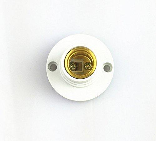 2 X Neu E14 Lampenfassung Glühbirne Sockel LED Kunststoff Deckenfassung Fassung