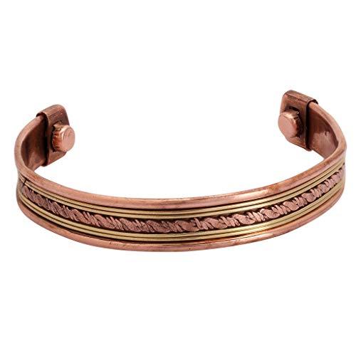 iCraftJewel Tibetischen Designer Kupfer Messing Cap Einstellbar Armband Manschette Armband Männer Frauen