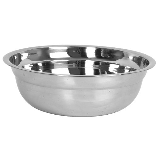 Thunder Group, 44-Qt Polar Basin, Stainless Steel Mixing Bowl
