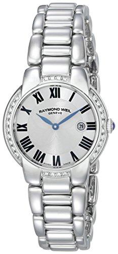 [レイモンド・ウィル] Raymond Weil 腕時計 Jasmine Silver Dial Stainless Steel Ladies Watch クォーツ 5229-STS-01659 レディース [バンド調節工具&高級セーム革セット]【並行輸入品】