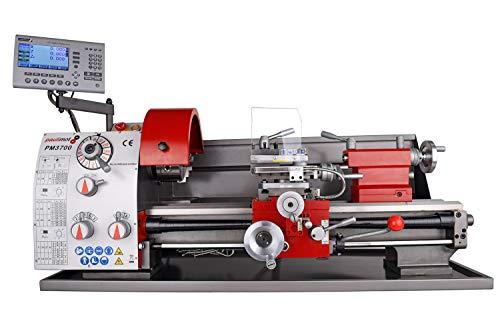 PAULIMOT Drehbank/Drehmaschine PM3700 mit 400 Volt Motor mit Messsystem