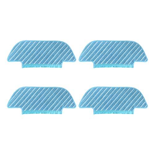 Momola Vadrouille de nettoyage en tissu Pour ECOVACS DEEBOT OZMO Slim 10 Pièces de rechange Robot Aspirateur Chiffon nettoyer les pièces de robot