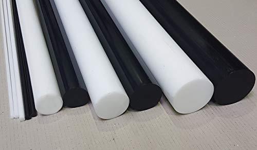 POM Rundstab Rundmaterial Kunststoff ⌀ 35mm L= 500-2000mm schwarz (1000 mm)