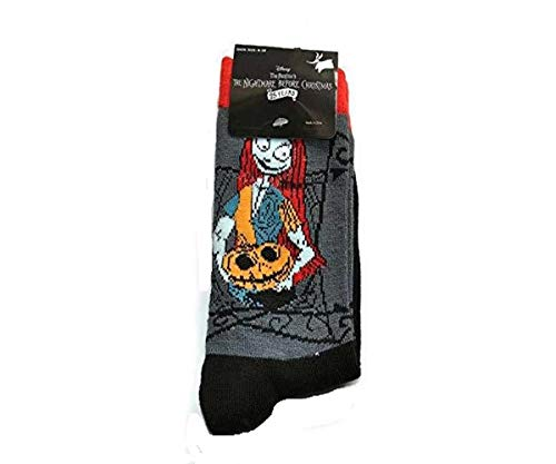 Disney Tim Burtons The Nightmare Before Christmas 25 years Socks SALLY with pumpkin Ladies Shoe size: 4-10