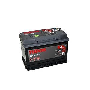 Batería para coche Tudor Exide Technica 45Ah, 12V. Dimensiones: 220 x 135 x 225. Borne izquierda.