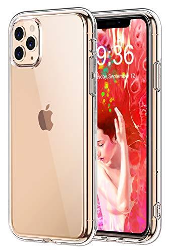 "Bovon Funda para iPhone 11 Pro, Carcasa Transparente Ultrafina para iPhone 11 Pro, Protección Anti Choques y Caídas, Suave Silicona TFU, Funda Anti Arañazos Compatible con iPhone 11 Pro 5.8"" (2019)"