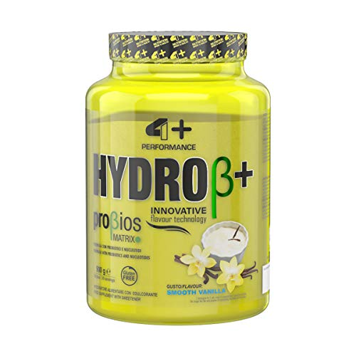 4 Sport Nutrition Hydro+ Probiotics Package of 1 x 900g – Whey Protein Hydrolysate Powder with Probiotics – Sports Supplement for Muscle Recovery – Workout (Smooth Vanilla)