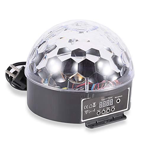 ETEC LED Magic Ball DMX Effektscheinwerfer Crystal Strahler Party Disco DJ Club Hochzeit Theater Effekt Partykeller