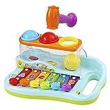 Ucradle Xylophon für Kinder 1 Jahr, ideales Lernspielzeug für die frühe Erziehung des Babys, mit...