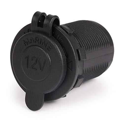 HehiFRlark - Adaptador impermeable para toma de mechero de coche de 12 a 24 V