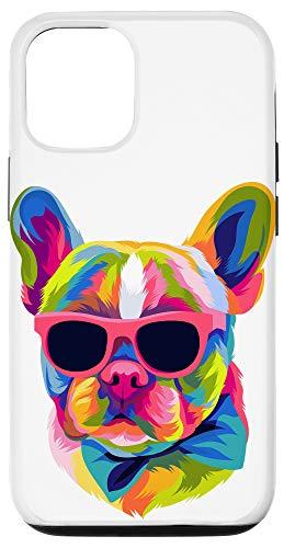 iPhone 12/12 Pro Pop Art French Bulldog Cute Gift Fur Mom Dog Dad Frenchie Case