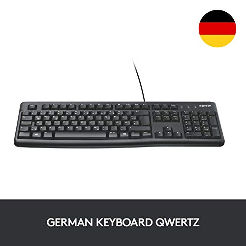 Logitech Keyboard K120 (QWERTZ, deutsches Tastaturlayout) (10-Pack)