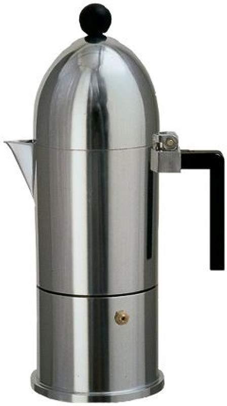 Alessi La Cupola Stovetop Espresso Pot 6 Cup By Alessi