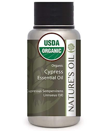Best Cypress Essential Oil Pure Certified Organic Therapeutic Grade...