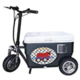 Cruzin Cooler CZ-HB Sport Motorized Ice Chest Scooter, 13 MPH Top...