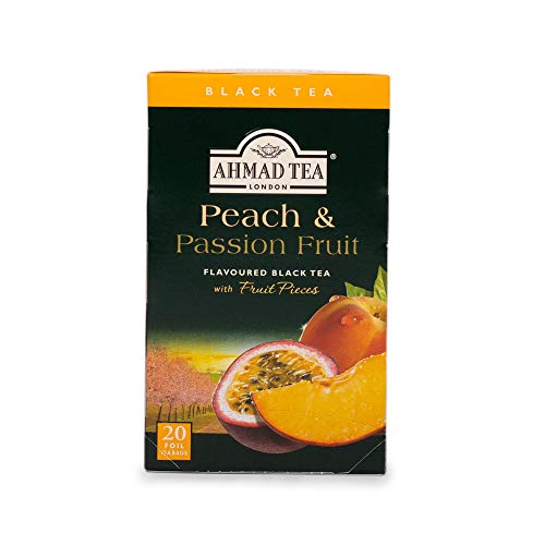 Ahmad Tea of London Peach & Passion Fruit Tea Bags 20's Box