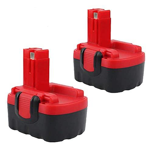 2X 14.4V 3.5Ah Ni-MH Reemplazo para Bosch Batería 13614 13614-2G 15614 1661 22614 32614 3454 34614 3660K 52314 AHS 41 Art 26 PSR 14.4 PSR 1440