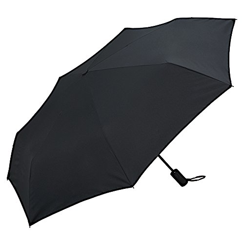 W. P. C Folding Umbrella Unisex Safety Auto Open & Close Black 58 cm MSJ – 900