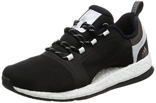 adidas Damen Pure Boost X TR 2 Laufschuhe, Nero (Negbas/Plamet/Ftwbla), 39 EU