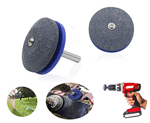 2Pac Mower Blade Sharpener,for Any Power Drill Hand Drill for Lawn Mower & Mower Blades
