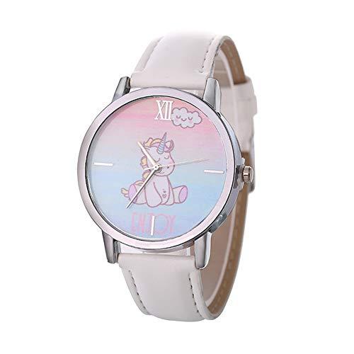 Meigold 1 Stück Einhorn Quarz Lässige Uhr Kinder Uhren