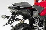 CBR500R 2019 - Kit Soporte de Matrícula (R-0920) - Ajustable Placa Portamatrículas - Luz LED y Tornillería Incluido - Accesorios De Pretto Moto (DPM Race) - 100% Made in Italy