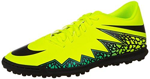 Nike Herren Hypervenom Phade II TF Fußballschuhe, Amarillo (Amarillo (Volt/Black-Hyper Turq-Clr Jade)), 47.5 EU