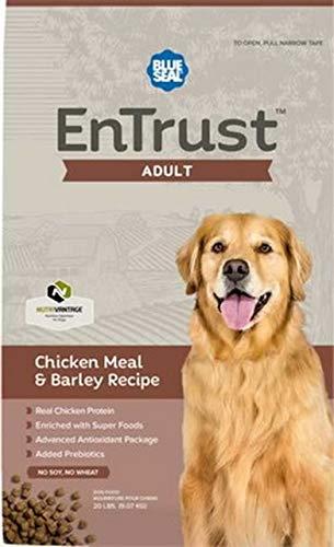 Blue Seal EnTrust Adult Chicken Meal & Barley Dog Food (6 Pounds)