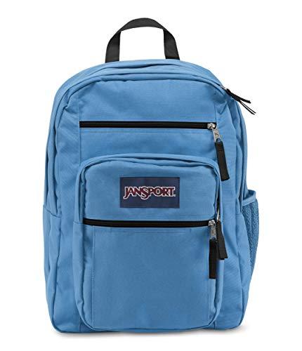 JanSport Big Student Backpack - 15-inch Laptop School Pack, Coastal Blue